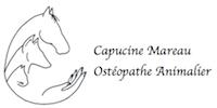 Capucine Mareau Osteopathe animalier Logo